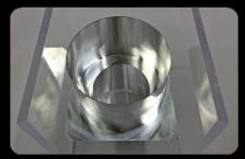 アルミ切削加工(加工後板厚0.5mm
